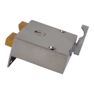 #12 - Union 1334 Narrow Cylinder Rim Drawback Lock