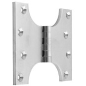 "#10 - 5"" Solid Brass Parliament Projection Hinge"