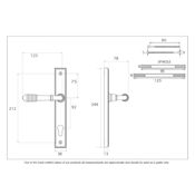 #01 - Marot Multi-Point Door Lock Handle