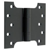 "#12 - 5"" Parliament Projection Fire Door Hinge Black"