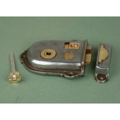 "#03 - 5"" Cromwell Privacy Rim Door Lock"