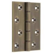 "#10 - 4"" Solid Brass DPBW Fire Door Hinge"