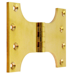 "#15 - 6"" Solid Brass Parliament Projection Hinge"