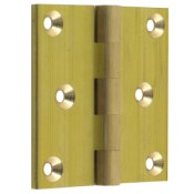 "#02 - 3"" Solid Brass Projection Hinge"