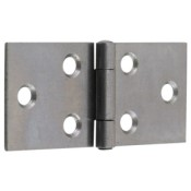 "#01 - 1.5"" Light Steel Backflap Hinge"