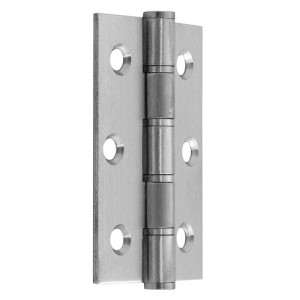 "#01 - 3"" Stainless Steel Washered Fire Door Hinge"