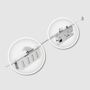 #02 Winkhaus FGTE Cobra Multi-Point Master Door Lock 45mm