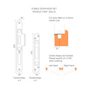 #01 - Winkhaus Stable Door Multi-Point Door Lock 45mm