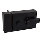 #04 - Standard Cylinder Rim Nightlatch Case Black