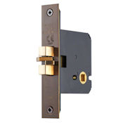 "#10 - 3"" Privacy Bolt for Sliding Bathroom/Toilet Doors"