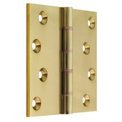 "#08 - 4"" Solid Brass DPBW Projection Hinge"