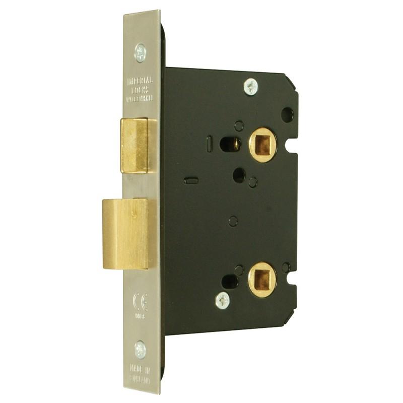 3 Quot 76mm Satin Brass Bathroom Or Toilet Door Privacy Lock