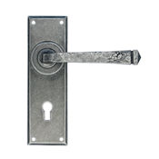 #08 - Avon Lever Door Handle on Lock Backplate