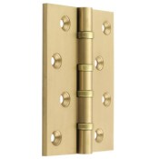 "#14 - 4"" Solid Brass Ball Race Bearing Fire Door Hinge"