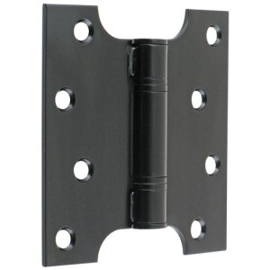 "#07 - 4"" Parliament Projection Fire Door Hinge Black"