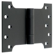 "#17 - 6"" Parliament Projection Fire Door Hinge Black"