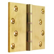 "#13 - 5"" Solid Brass DPBW Projection Hinge"