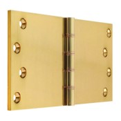 "#19 - 8"" Solid Brass DPBW Projection Hinge"
