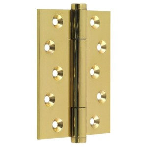 "#18 - 4"" Solid Brass High Performance Fire Door Hinge"