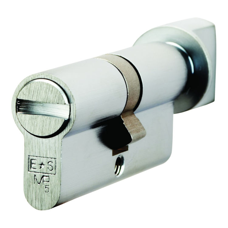 Polished Brass 70mm 35mm 35mm Euro Profile Bathroom