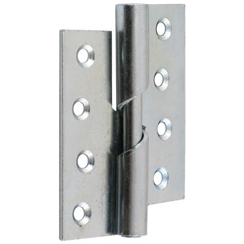 4 Quot 100mm Bright Zinc Steel Rising Butt Hinge For Doors