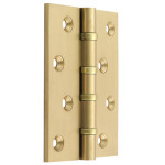 04 Hinges for Doors & Windows - Solid Drawn Brass
