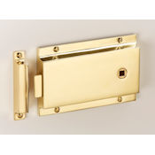 "#03 - 5"" Solid Brass Rim Door Latch"
