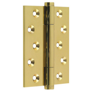 "#17 - 4"" Solid Brass High Performance Butt Hinge"