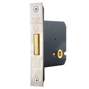 "#02 - 2.5"" Bathroom/Toilet Door Privacy Bolt"