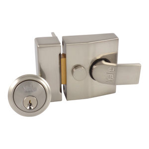 #07 - Yale 85 Narrow Cylinder Rim Nightlatch